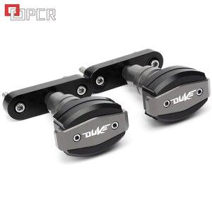 Image 2 - Высококачественные слайдеры рамы с ЧПУ мотоцикла, защита от ударов, защита от падения Для KTM Duke 125 200 390 Duke