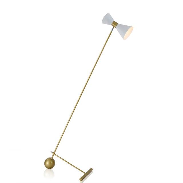 Design moderno camera da letto lampada da terra designer oro ...