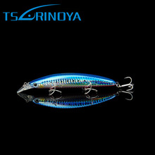 Tsurinoya 5Colors 11cm 20.5g Minnow Fishing Lure Hard Bass Fishing Tackle with Hook Spinner Bait Peche Minnow Lure