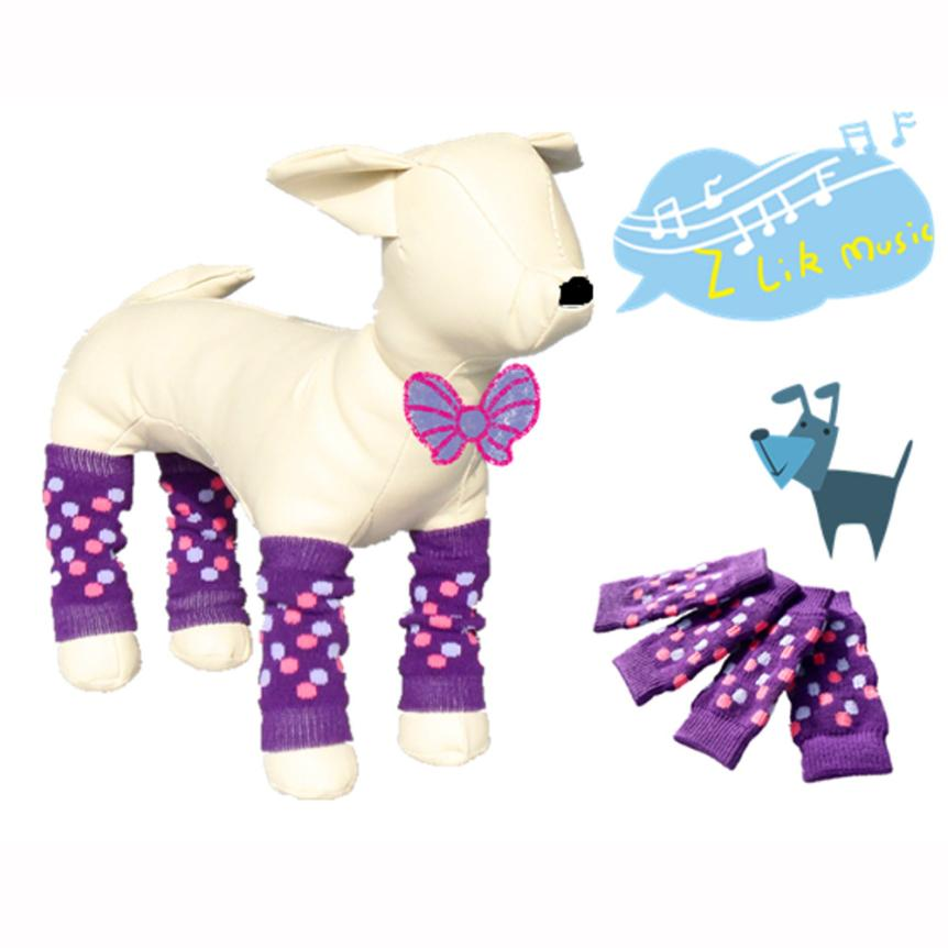 NewFashion Pet Dog Leg Socks Cute Warm Socks Dog Non-slip Pet Leg Warmers Warm Levert Dr ...