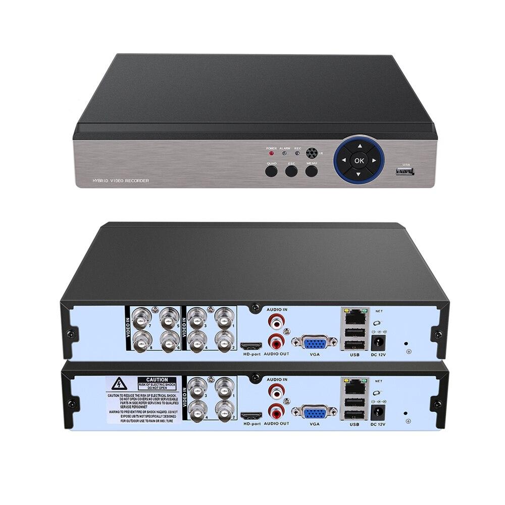 5 IN 1 H 265 H 264 AHD DVR XVR NVR Analog DVR 5MP 4MP 3MP