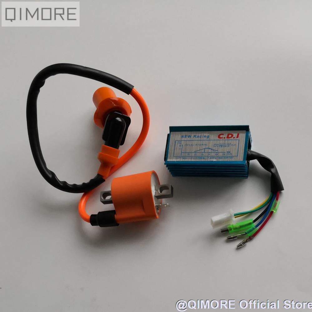 performance cdi ignition coil for 2 stroke minarelli 1e40qmb scooter moped jog50 3kj jog90 vento [ 1000 x 1000 Pixel ]