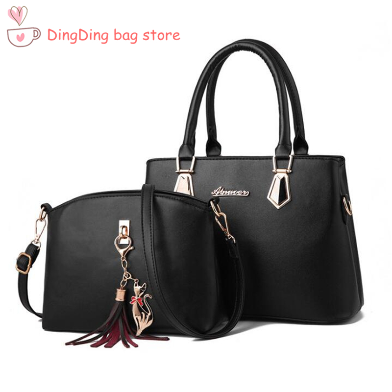 women bag Fashion Casual Contain two packages Luxury handbag Designer Shoulder bags new bags for women 2019 Composite bag bolsoswomen bag Fashion Casual Contain two packages Luxury handbag Designer Shoulder bags new bags for women 2019 Composite bag bolsos