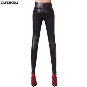 046f1e741f9166 SILVERCELL Women Slim Lace Sexy Pants Leggins Leggings