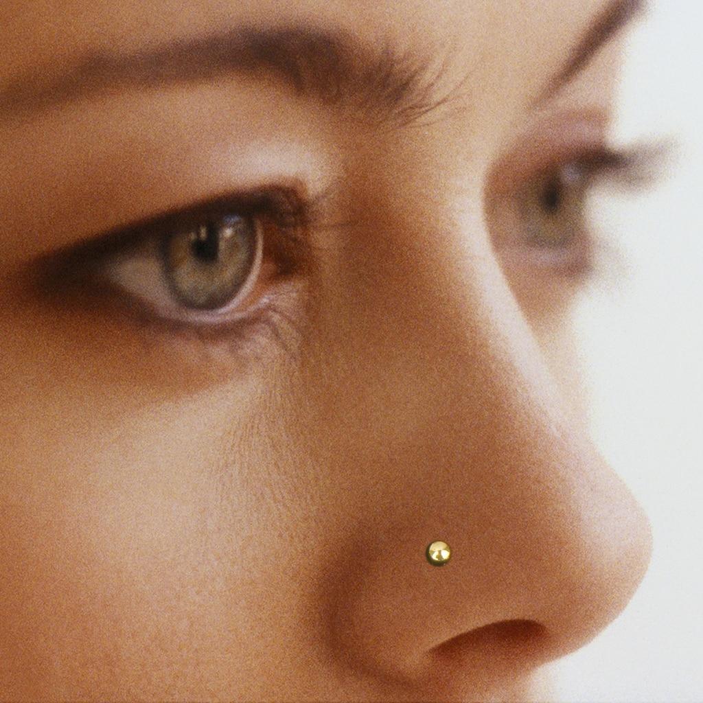 60pcs 20G Hot Fashion Punk  Nose Stud Ring Bone Piercing Jewelry