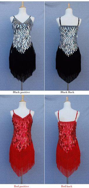 dca478c62ba Online Shop 1920s Flapper Dress Gold Silver Red Great Gatsby Dress ...