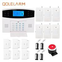 433 Mhz Home Alarm System Wireless Gsm 2016 Newest Anti Burglar Security Russian Spanish Czech Voice
