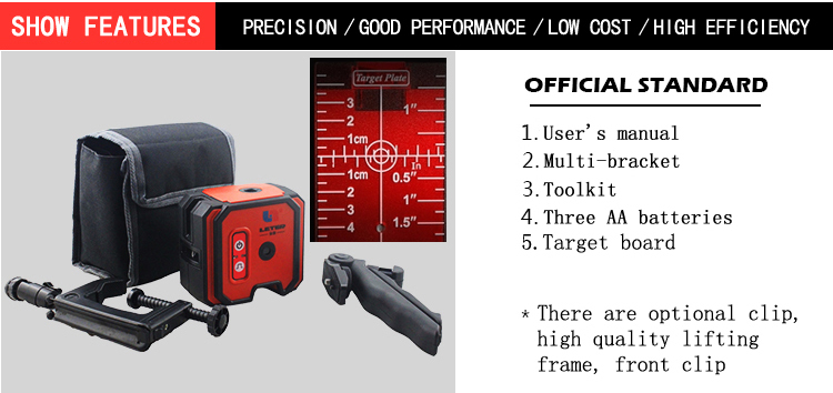 New LETER LL2 Laser Level Cross Line laser line цены