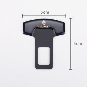 Image 2 - 1PCS Car Belt Buckles Car Seat Safty Belt Alarm Canceler Stopper for Renault Laguna 2 Captur Fluence Megane 2 Megane 3 Scenic