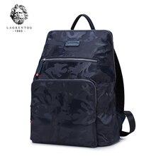 Laorentou 2017 Оксфорд камуфляж рюкзак Для мужчин ноутбук Повседневное рюкзак Бизнес Сумки большой Ёмкость школьная сумка