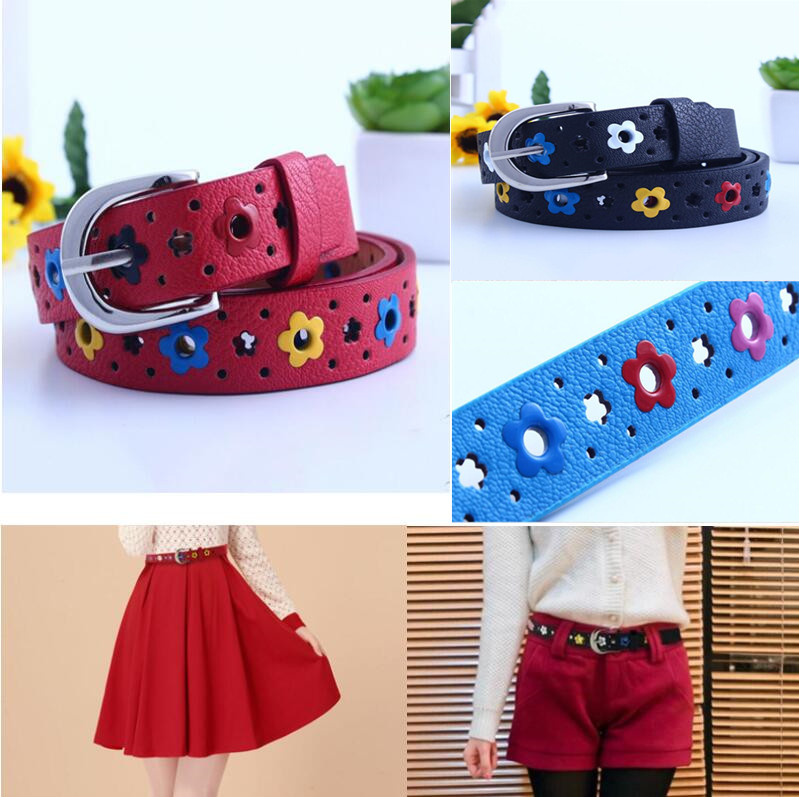 Children PU leather   Belts   Kids Classic Boys Girls Leisure   Belts   Hot Selling Girl`s   Belts   for Jeans Pants be'l't