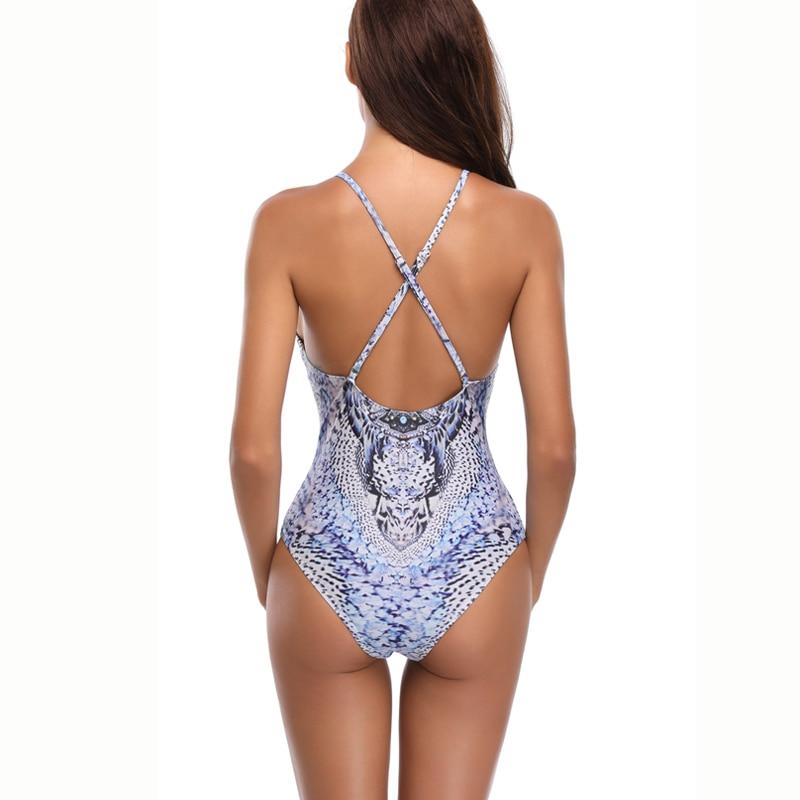 Bath Suit One Piece Swimsuit 2019 Swimsuit Womens Swimming Swimwear Monokini Push Up Bikini Sets Female Bathing Suit Beach Wear in Body Suits from Sports Entertainment