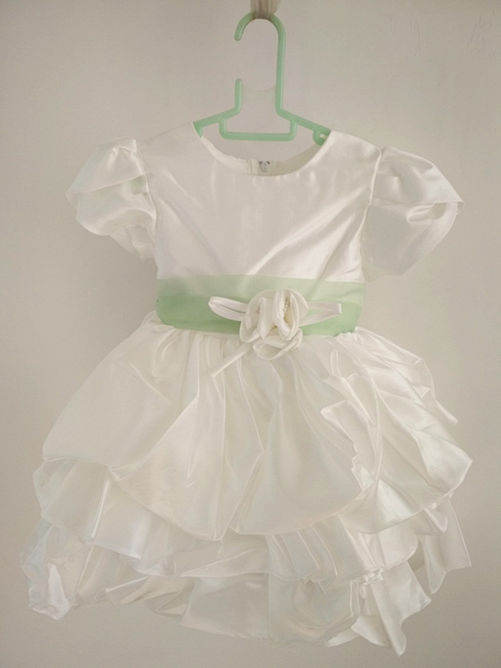 цена на BBWOWLIN Baby Girls Dress Summer Court Style Party Simple Dresses for Toddler Girl Clothing 18M