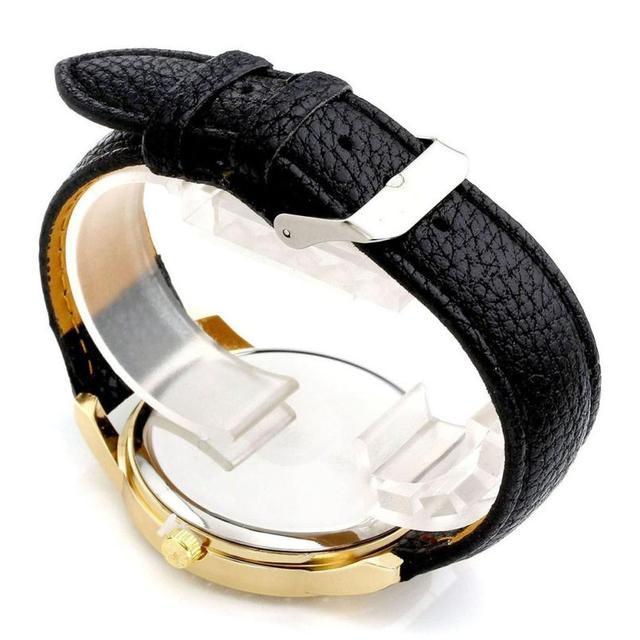 Geneva Women's Leather Band Roman Rhinestone Quartz Wrist Watch Watches Relogio Feminino Women Watches Reloj Mujer Bayan Kol