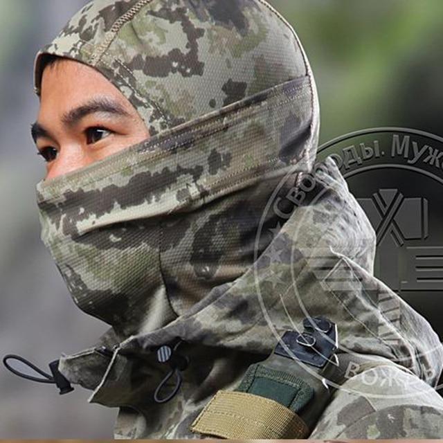 Taktik Askeri Açık Çabuk kuruyan Başlık Yüz Maskesi Koruma Balaclava Hood Maskesi Erkek MRBansheeTyphonDesertHLD #