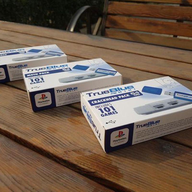 Image 5 - 64GB True Blue Mini Crackhead Meth Pack per PlayStation Giochi Classici e Accessori 101 & 58 giochi V1 F42DWholesale dropshippingPezzi di ricambio e accessori   -