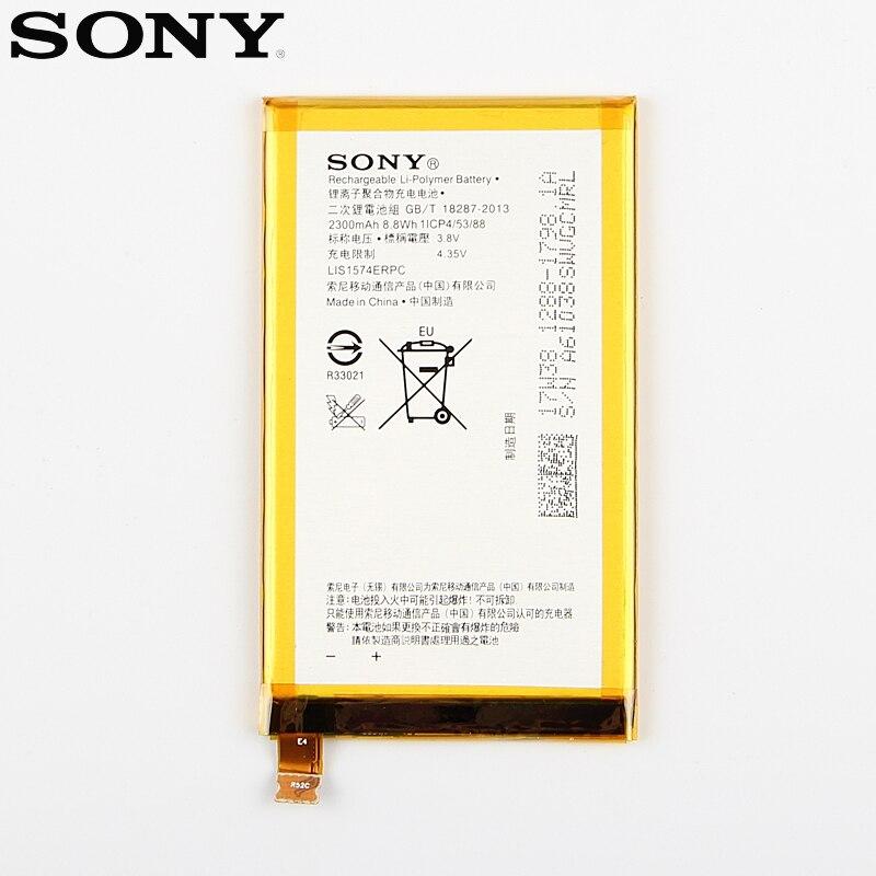 Original Replacement Sony Battery For SONY Xperia E4 E2003 E2033 E2105 E2104 E2115 LIS1574ERPC Genuine Phone Battery 2300mAh