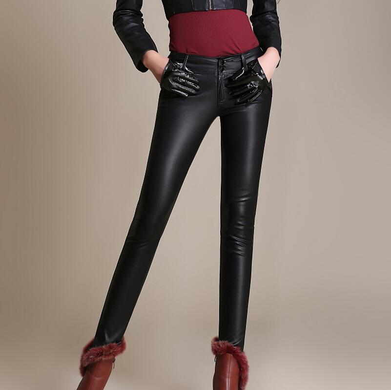 Elástico Xs Engrosamiento De Nueva Render Pantalones Alta Negro Moda Mujer 3xl Cuero Cintura Caliente Tamaños Más Pequeña 2019 Grandes rBrpO