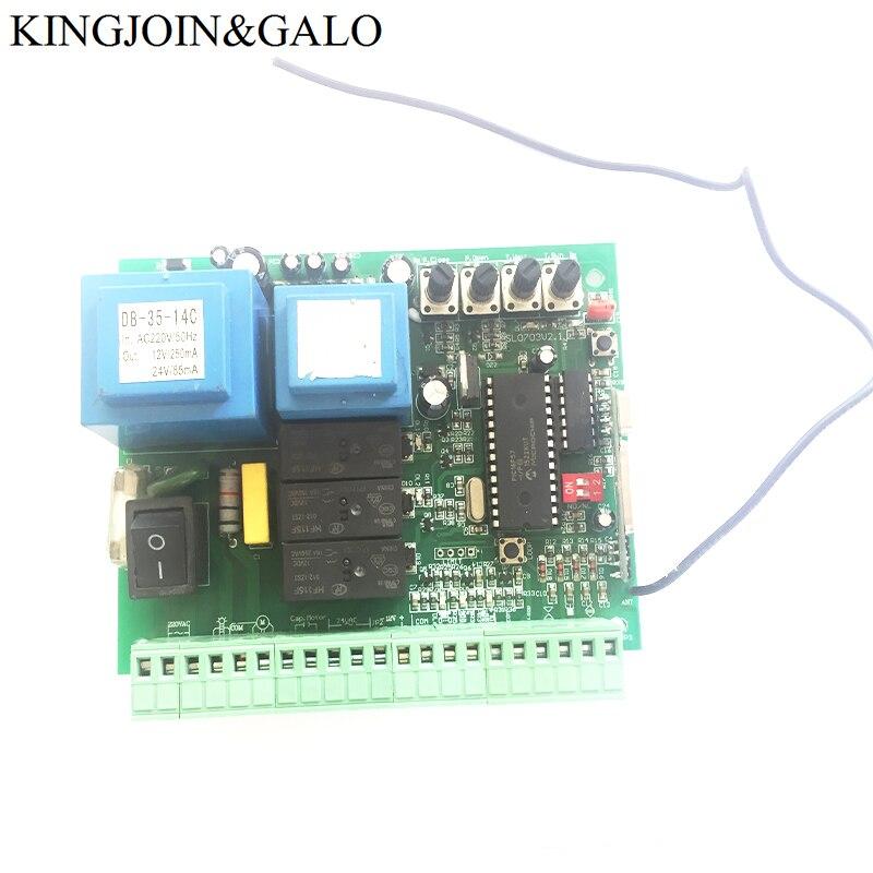 купить AC220V PCB controller circuit board for sliding gate opener motor electronic card HDEA-750W EB-1000W недорого