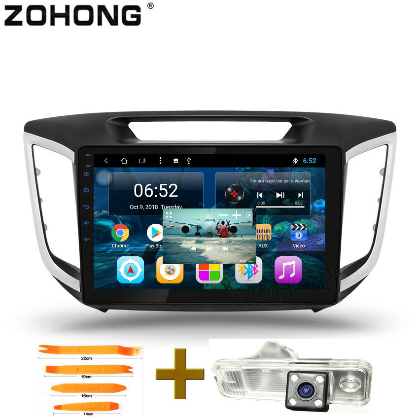 10 2 inch 2 5D Octa 8 Core Android 8 1 Car dvd player For Hyundai