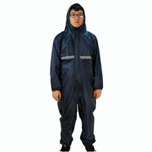 Waterproof Working overalls with cap, factory uniform work clothing, jumpsuit,Labor suit.(China)