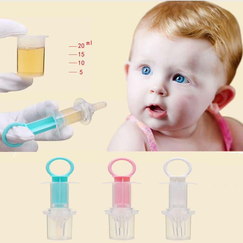 Baby Feeding Device Juice Child Syringe Baby Medicine Medicine Squeezing Nipple Feeding Spoon Device Nipple Child Equipment