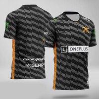 Top quality 1:1 Fnatic Custom ID Tshirt Fans T shirt Men Women O neck Short Sleeve T shirts Custom Tee Shirt Homme