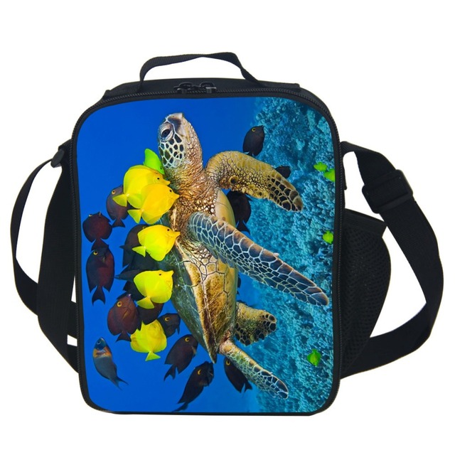 Under Sea World Thermal Lunch Bags For Children,Turtle