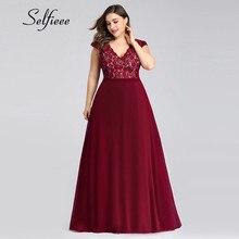 Plus Kích Thước Váy Đầm Cho Nữ Đi Biển Mùa Hè Đầm Thanh Lịch Một Dòng Cổ V Tay Dài Boho Đầm Thời Trang Mới đầm Ren
