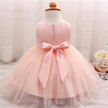Trendy Pink Princess Baby Girl Dress