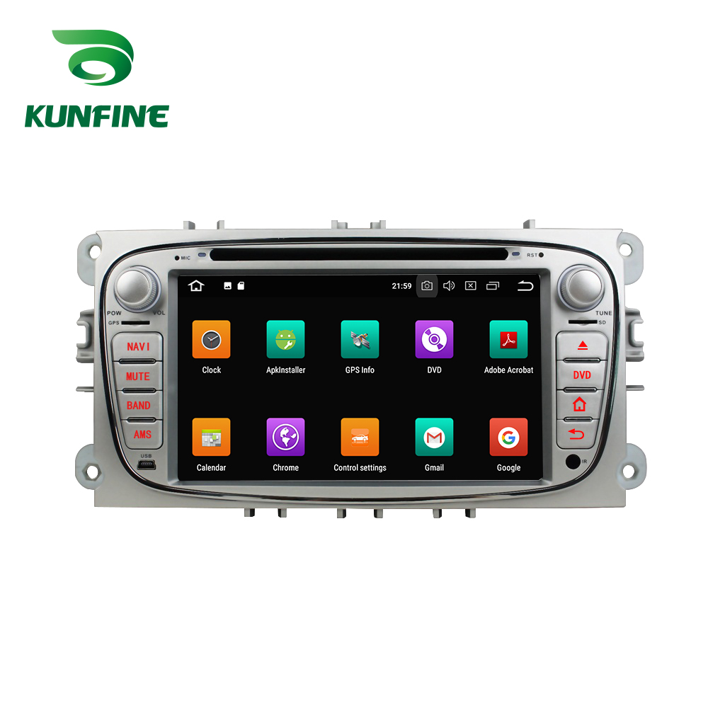 4GB RAM Octa Core Android 8.0 Car DVD GPS Navigation Multimedia Player Car Stereo for Ford Focus 2008 2009 2010 Headunit wifi 3G