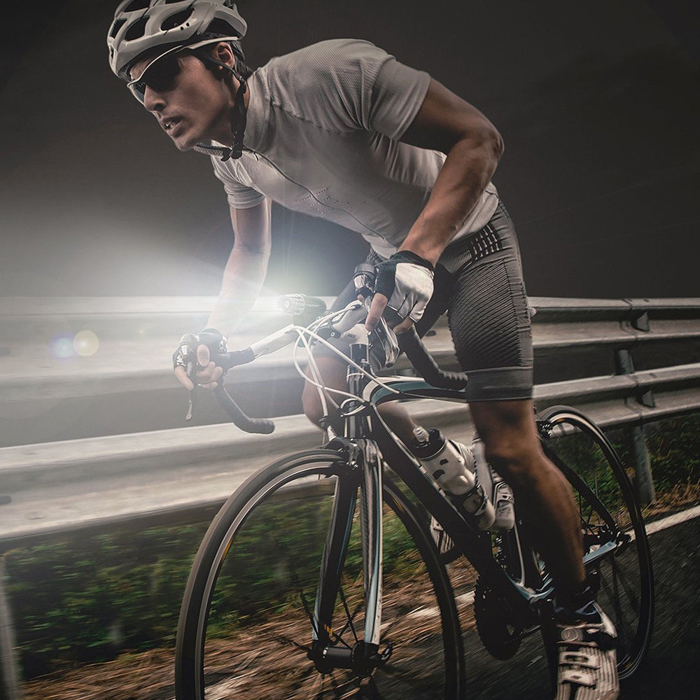 Bici Ciclismo Seguro Advertencia Frente Posterior Faro L/ámpara STRIR Impermeable USB Recargable LED Bicicleta Cola Ligero