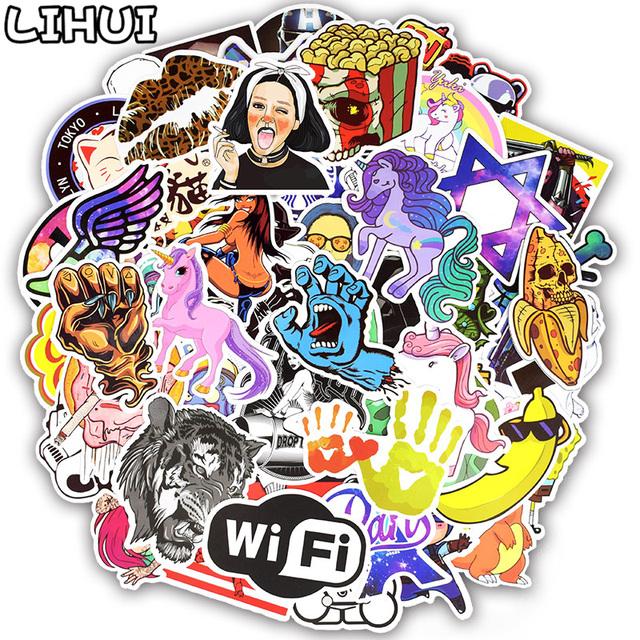 Stickers Mixed Anime 300pcs