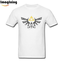 Latest Hyrule Graphic T-shirts The Legend of Zelda T Shirts For Men XL T Shirt