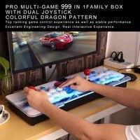 Аркада джойстик геймпад комплект 800 игр в 1 видео ТВ Jamma 2 джойстика VGA HIDMI металлический двойной палки Arcade консоли 2 игроков