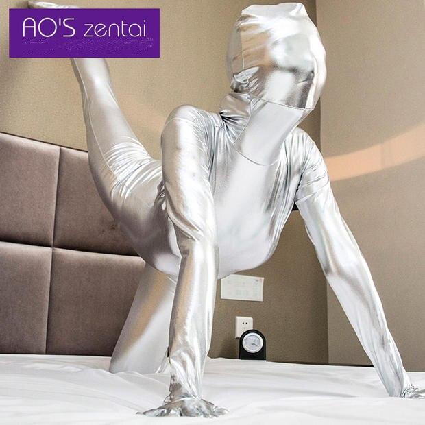 2016 Hallowmas Christmas Zentai Sexy Unisex Shiny Metallic Zentai Suits Hot 12 Color Pvc Catsuit Cosplay Costume Can Be Custom On Aliexpress Com Alibaba