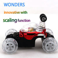 Innovative design! scaling function RC Cars Dump Stunt Car Children Toys With light and music for Kids Birthday Special Toys
