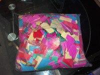 Wedding Confetti Paper for Rainbow Effect Machine Confetti Machine and Confetti Cannon 1KG/bag Suit ALL Paper Machine