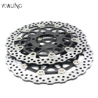 Motorcycle Accessories Front Brake Disc Rotor For KAWASAKI ZX10R 1000CC 2008 2009 2010 2011 2012 2013