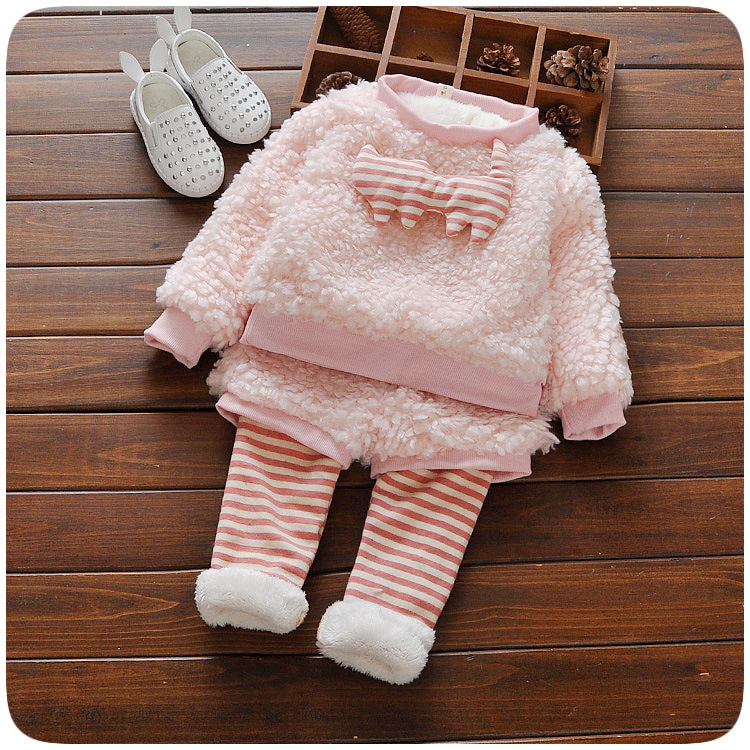2016 New Winter Baby Girl Clothes All For Kids Clothes And  Baby Girls Clothing Set HW0017 2016 winter new soft bottom solid color baby shoes for little boys and girls plus velvet warm baby toddler shoes free shipping