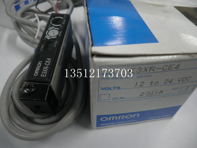 Photoelectric switch E3XR CE4 fiber amplifier OMRON