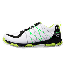 men super light microfiber leather waterproof comfortable good grip male sport shoes breathable anti-skid patent golf shoes