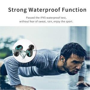Image 5 - IPX5 su geçirmez bluetooth kulaklık 5.0 kablosuz Stereo sporcu kulaklığı gürültü oyun kulaklık güç kaynağı Tws sh *