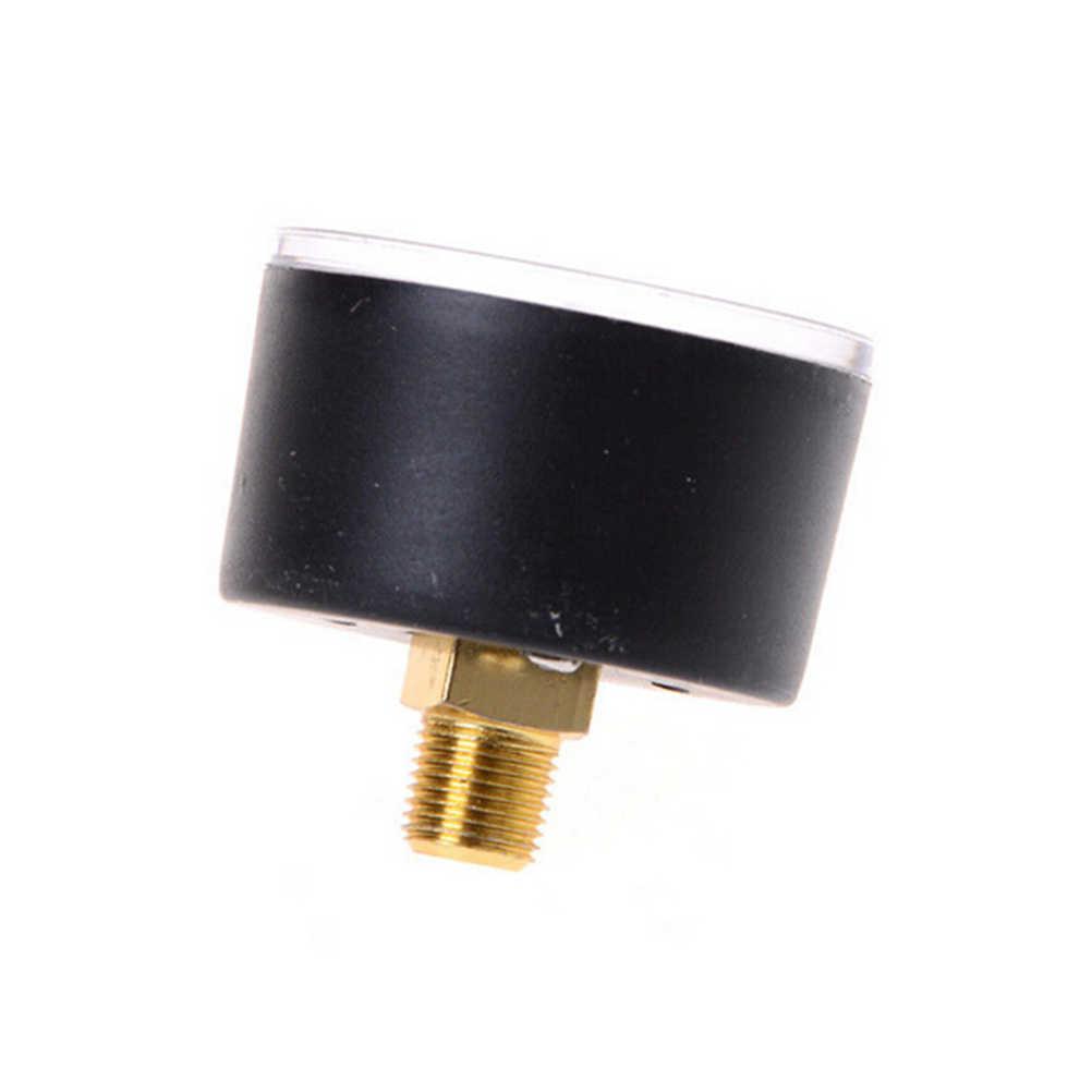 Compresor de aire de Venta caliente medidor de presión hidráulico neumático 0-12Bar/0-180PSI