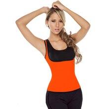 5 Colors Female Waist Trainer Cincher Neoprene Body Shaper Control Women Vest T Shirt L42657-3