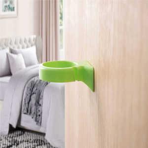 Image 3 - Alta qualidade dos desenhos animados escova de dentes armazenamento rack fixado na parede copo no chuveiro sala cabide copo suporte cremalheira armazenamento creme dental moun