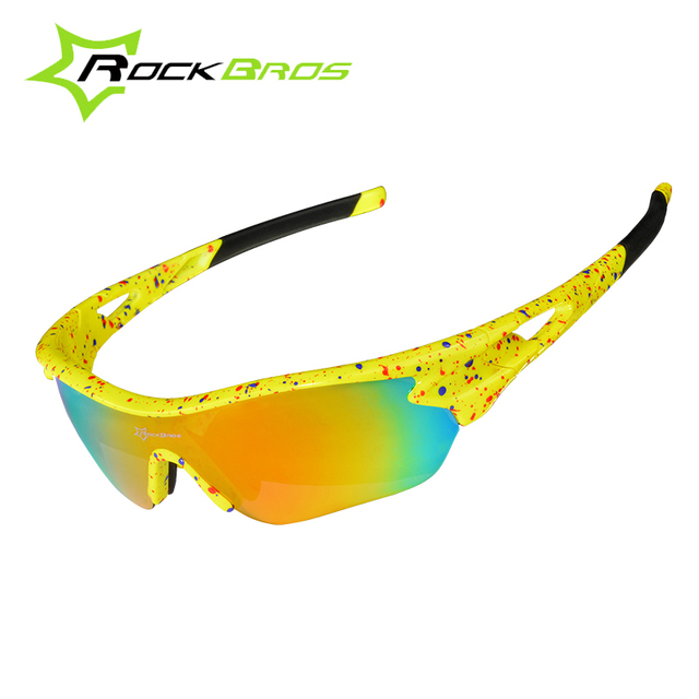 50208a5bac ROCKBROS Polarized Bike Riding Glasses 3 Lenses Unisex Material Acetate  Sport Professional Cycling Outdoors spectacles GS0009