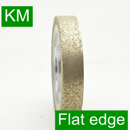 Free Shipping KM 50x22xFE12 15 19 25mm Flat edge 1A1 Peripheral Daimond wheels Grinding wheel For