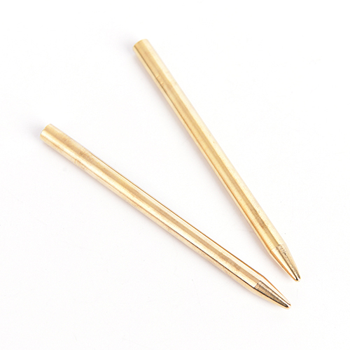 2pcs paracord fids lacing stitching weaving needles stainless steel//copper ZN