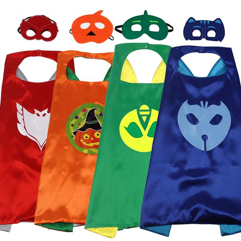 2017 new childrens cartoon hero cloak custom double Halloween Superman cloak two-piece cloak